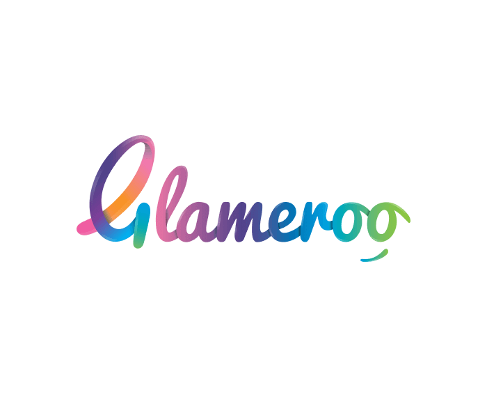 logo design and digital marketing for Glameroo